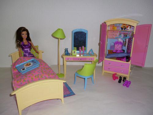 Fantasie barbies slaapkamer